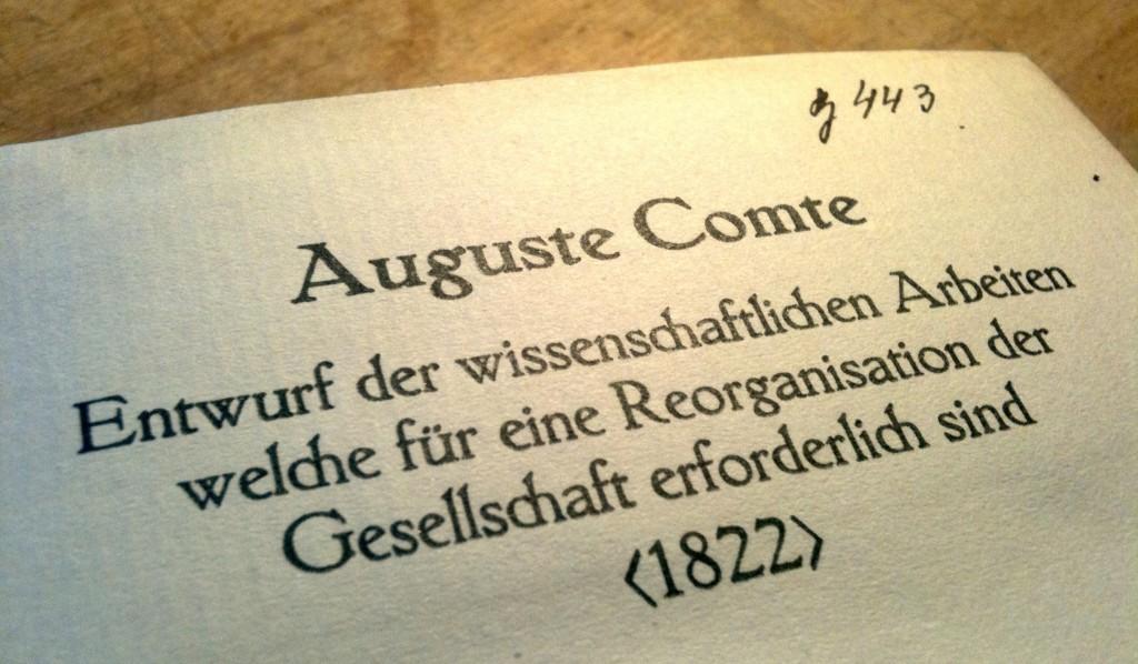 Comte 1822