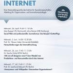 Soziologie des Internet (Vortragsreihe)