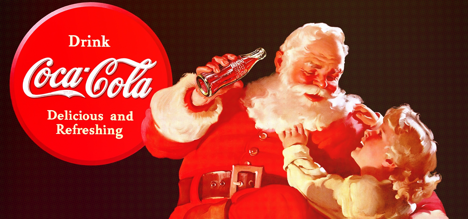 Weihnachtsmann Coke