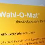 Querverweis: Informationsverhalten im Bundestagswahlkampf 2013