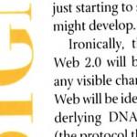 Heute ist die Zukunft von gestern XVII: »Web 2.0« (DiNucci 1999)