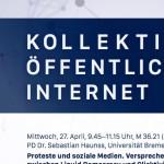 Splitter: Kollektivität, Öffentlichkeit, Internet