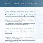 Digitalisierung: Arbeit | Öffentlichkeit | Identität