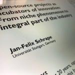 Splitter: Open-source projects as incubators of innovation