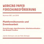 Working Paper: Plattformökonomie und Erwerbsarbeit